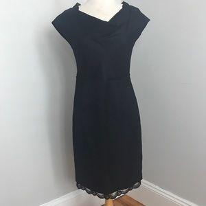 Banana Republic Mad Men Collection Black Dress